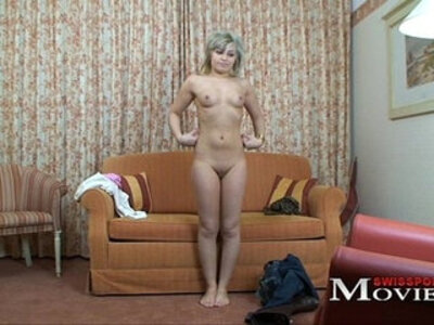 Porn video with Swiss Pornmodel Vivien 20y | -first time-model-wild-