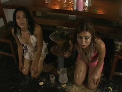 Two Girls Forced Vomit Puke Puking Vomiting Gagging | -forced-gagging-girl-