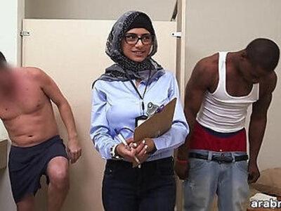 Mia khalifa the arab pornstar measures white cock vs black cock | -arab-black cock-cock-pornstar-students-white chick-