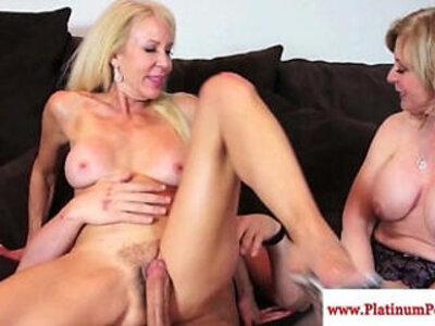 Erica lauren and nina hartley ffm fun | -ffm-fun-mommy-