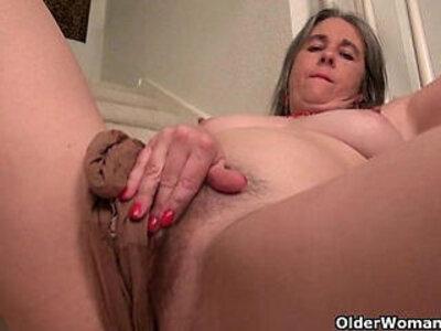 Naughty granny Bossy Rider loves fingering her asshole | -american-asshole-fingering-love-naughty-