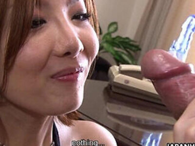 Hot and moaning asian is vibed and sucks it   -asian-lady-moaning-