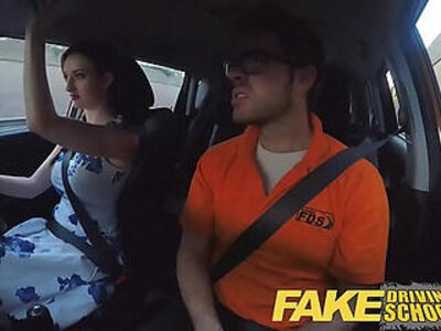 Fake Driving School Posh freaky redhead with big tits and ginger bush fucks | -big tits-freak-readhead-redhead-school-