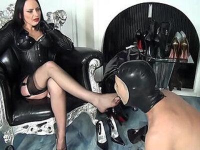 Heels domina nadja   -heels-worship-