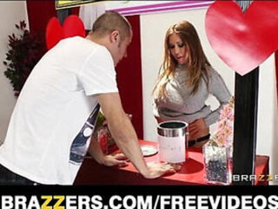 Kianna dior turns her charity kissing booth into a fucking booth | -kissing-mom-