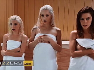 Hung Dude Bones 3 Sexy Babes (Piper Perri, Elsa Jean, Alaina Dawson) - Brazzers | -dude-sexy-