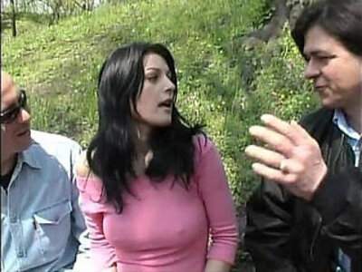 Sexy euro girl walking on a park taken and fucked by two bad guys | -abuse-euro sluts-gay-park-sexy-wild-