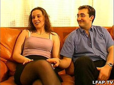 Couple libertin en plein casting porno | -casting-couple-french-