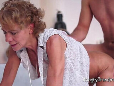 Granny Likes It Doggystyle | -doggy-granny-old and young-