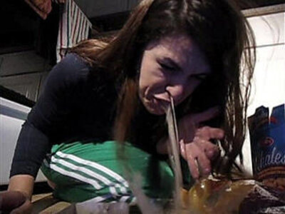 Girl vomit puke puking gagging nasty food | -gagging-girl-nasty-weird-
