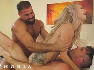 BiPhoria - Married Couple Both Want To Fuck The Pool Boy | -boy-bride-couple-pool-