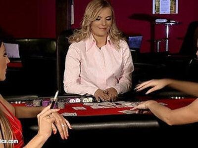 Naughty Gamblers by Sapphic Erotica sensual lesbian sex scene with Rene and Li | -erotica-lesbian-naughty-sensual-