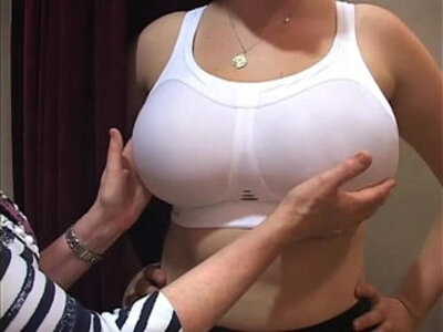 bra fitter grope big boobs office girl in a bra shop | -big boobs-girl-huge tits-office-shop-