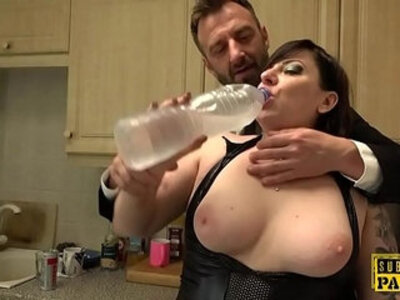 Chubby uk pisser facefucked into submission | -chubby-cum swallow-