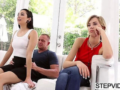Stepdad fucks Malina Mars at fathers day | -father-stepdad-stepsister-