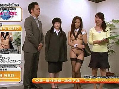 Weird JAV TV Shopping Channel Sexy Uniforms Subtitled   -sexy-uniform-weird-