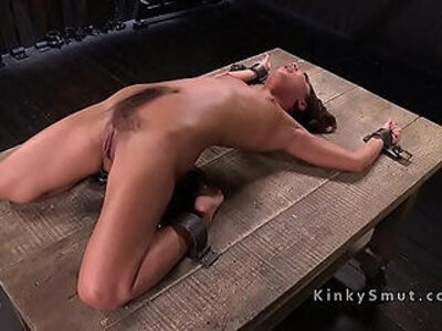 Petite slave got pussy whipped | -pain-petite-pussy-slave-whip-