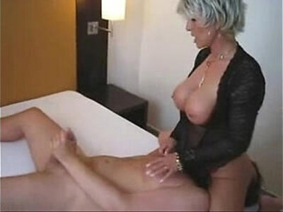 Blonde Cougar Sitting on His Face | -blonde-cougar-face fuck-facesitting-