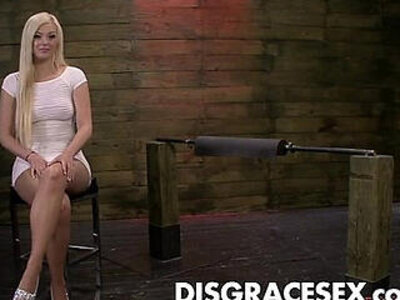 Jenna Ivory is Tormented on the Sybian and Fucked deep and Hard | -sex machine-