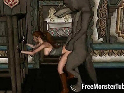 3D Red Riding Hood gets doggy fucked by the Big Bad Wolfd high | -3d-bizarre-doggy-hood-riding-