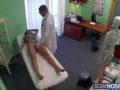 Super hot and sexy Victoria was ready for the doctors cock fuck from behind | -ass fucking-cock-doctor-pain-sexy-