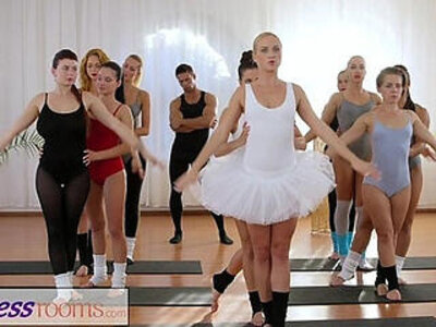Fitness Rooms Petite ballet teachers secret threesome | -3some-fitness-petite-teacher-