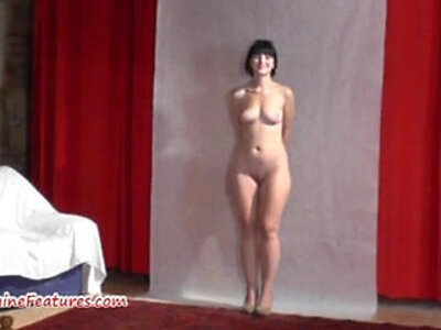 19yo cutie shows body at her first erotic CASTING | -19 years old-casting-cute-erotica-first time-