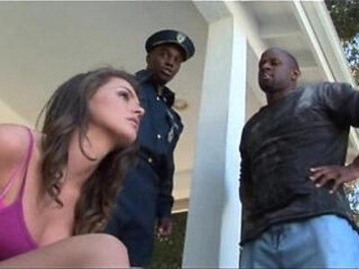 Tori Black on black teen punishment   -black-black woman-cum on tits-punishment-