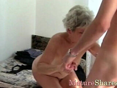 Mature gets young cock | -cock-female-grandma-mature-young-