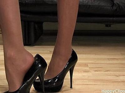 Mistress Anique high heels shoesteps | -domination-high heels-mistress-