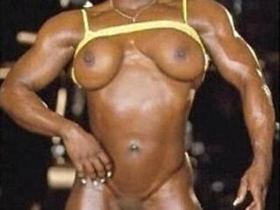 Muscle GFs Hotter pair than Hell!   -big ass-muscle-