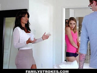 FamilyStrokes College Bro Cums Home To Horny SIs | -college-cum-homemade-horny-stepsister-