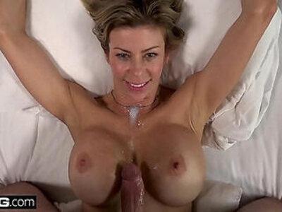 BANG Real MILFs Alexis Fawx flashing sucking cock pooside | -cock-flashing-milf-orgasm-sucking-