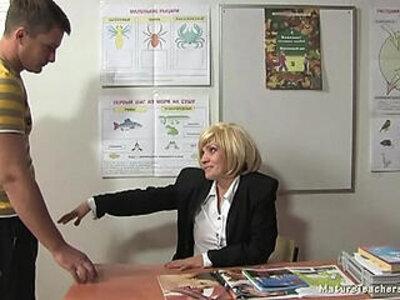 Russian mature teacher Kayla break   -older woman-russian-teacher-