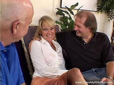 Anal Sex For Swinger Grannie GILF   -anal-gilf-granny-swingers-