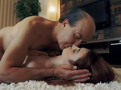Innocent sweet Teen Swallows and Spits cum after Romantic Sex with Grandpa | -cum-grandpa-innocent-romantic-swallow-sweet-