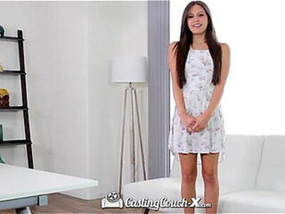 CastingCouch X Lucy Doll gets fucked by casting agent in first audition | -agent-audition-casting-couch-doll-first time-