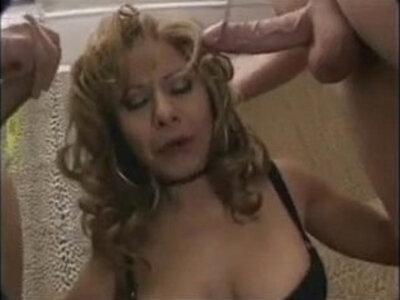 mami vs two men Get more girls like this | -bukkake-girl-