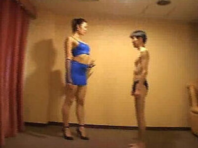 Tall Japanese Trampling Mixed Wrestling | -japanese-wrestling-