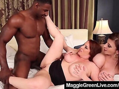Curvy blonde maggie green and busty milf sara jay fuck cock | -blonde-busty-cock-curvy-huge tits-