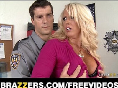 Big tit blonde milf alura jensen is frisked and fucked by a cop | -blonde-mom-