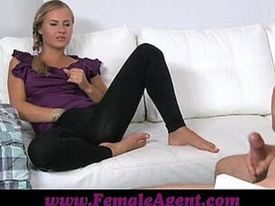 FemaleAgent Mutual masturbation in casting interview | -agent-casting-interview-masturbation-