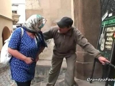 Nasty granny still knows to please a dude | -dude-grandpa-nasty-