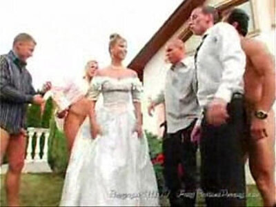 The Brides Facials | -blowjob-bride-facials-