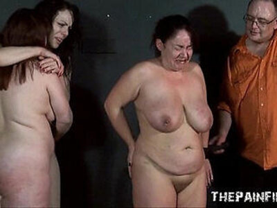 Three slavegirls whipping and extreme punishment to tears of amateur slavesluts | -amateur-extreme-punishment-whip-
