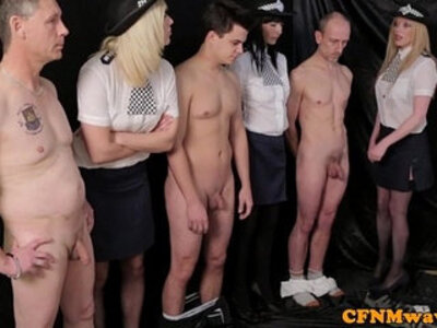 Femdom female police agents humiliate | -agent-female-femdom-humiliation-officer-