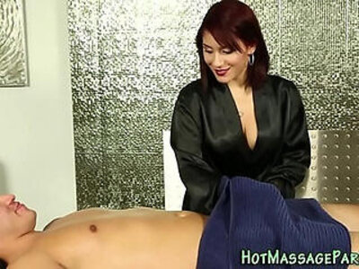 Cummy mouthed masseuse | -cum in mouth-massage-