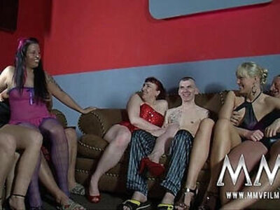 MMV FILMS amateur German Swingers everybody gets fucked for some | -amateur-german-swingers-
