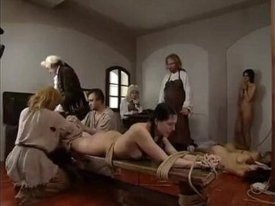 Three girl hard punishment | -bizarre-girl-punishment-