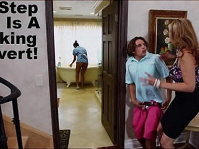 stepmom julia ann has threesome fuck with maid abby lee brazil | -3some-brazilian-maid-stepmom-stepson-